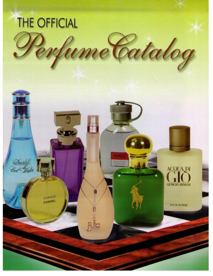 Catalogo 600 perfumes