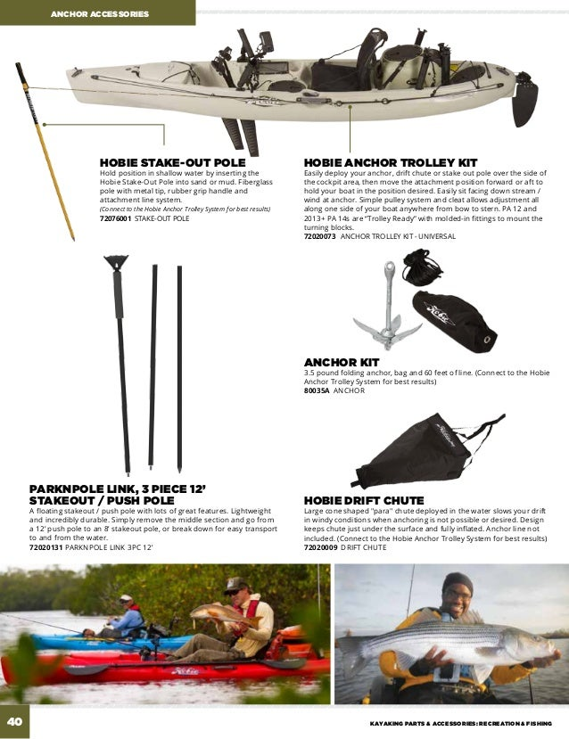 zapture Canoe Anchor Trolley Kit Folding Anchor Accessories Kayak Anchor Trolley Kit Stainless Steel Kayak Accessories