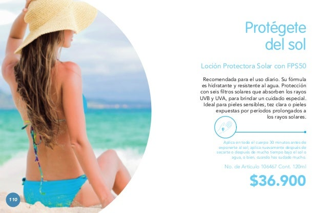 99%  de protección contra los rayos UV.  50  FPS  CUIDADO DEL CUERPO  hasta un  111 111