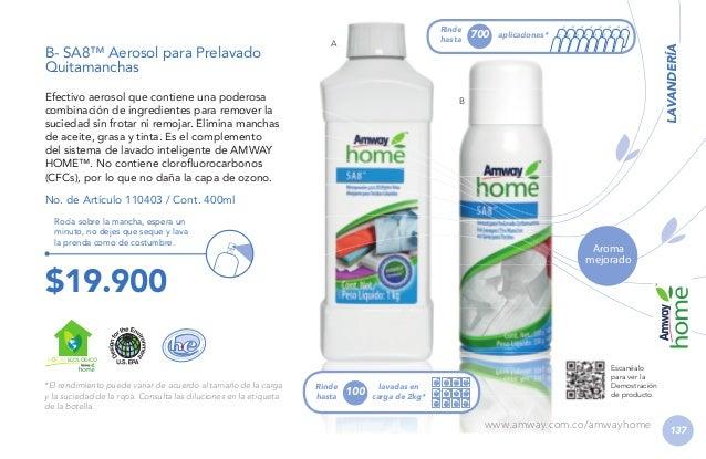 Lavaplatos Limpia a profundidad la suciedad de vasos, ollas, vajillas y cubiertos, dejándolos relucientes mientras protege...