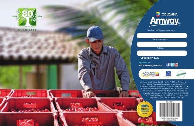 Catalogo amway febrero/14 Colombia