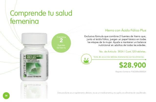 BIENESTAR DE LA MUJER  Fuente antioxidante Lecitina E La lecitina contenida en esta exclusiva fórmula de NUTRILITE™ es un ...