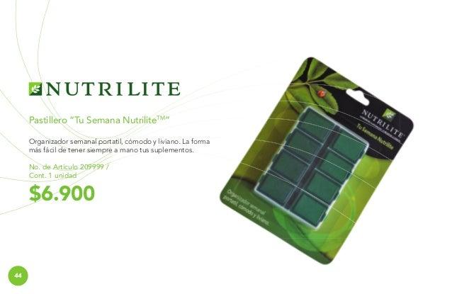 DVD Fitonutrientes No. de Artículo 242599 / Cont. 1 unidad  $2.300  MATERIALES NUTRILITE  Materiales Fitonutrientes ¿Quier...