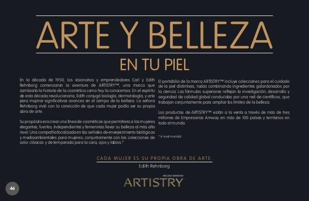 ARTISTRY™ empuja constantemente los límites de la belleza a través de tres pilares claves: Descubrimiento, Imaginación e I...