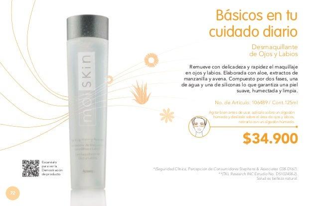 A- Gel Limpiador Exfoliante  El rostro limpio con la frescura y delicadeza de las perlas de jojoba para mejorar la aparien...