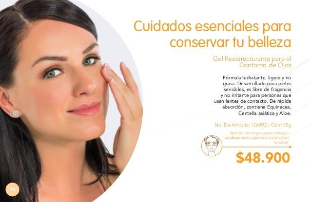 Probado  CUIDADO BÁSICO  Libre de fragancias oftalmológicamente  Ayuda a reducir la aparición de ojeras causadas por fatig...