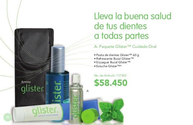 B. Estuche Viajero Glister™  CUIDADO BUCAL  B  Práctico estuche viajero donde puedes llevar todos los productos de cuidado...