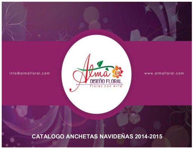CATALOGO ANCHETAS NAVIDEÑAS 2014-2015