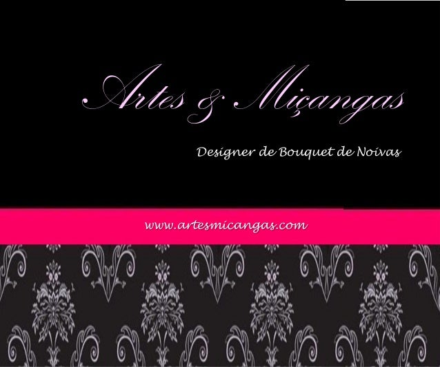 Artes & Miçangas Designer de Bouquet de Noivas www.artesmicangas.com