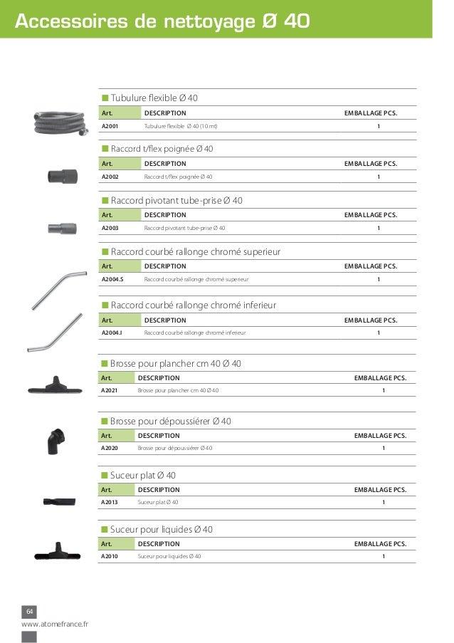 Adaptateur pivotant tube-prise pour aspirateur /Ø 32