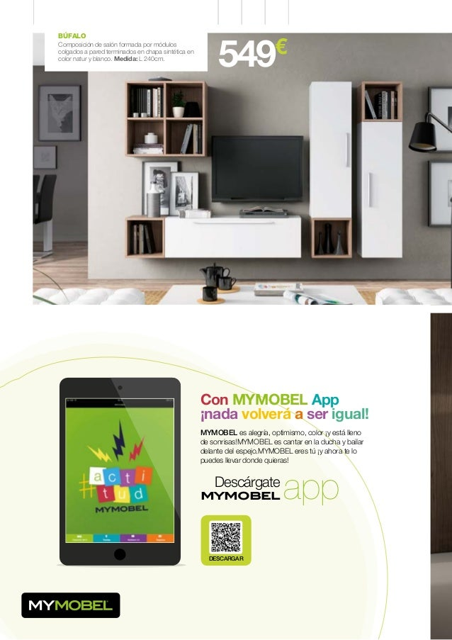 MYMOBEL. Catálogo Colección 2014 / 2015. Muebles y Decoración