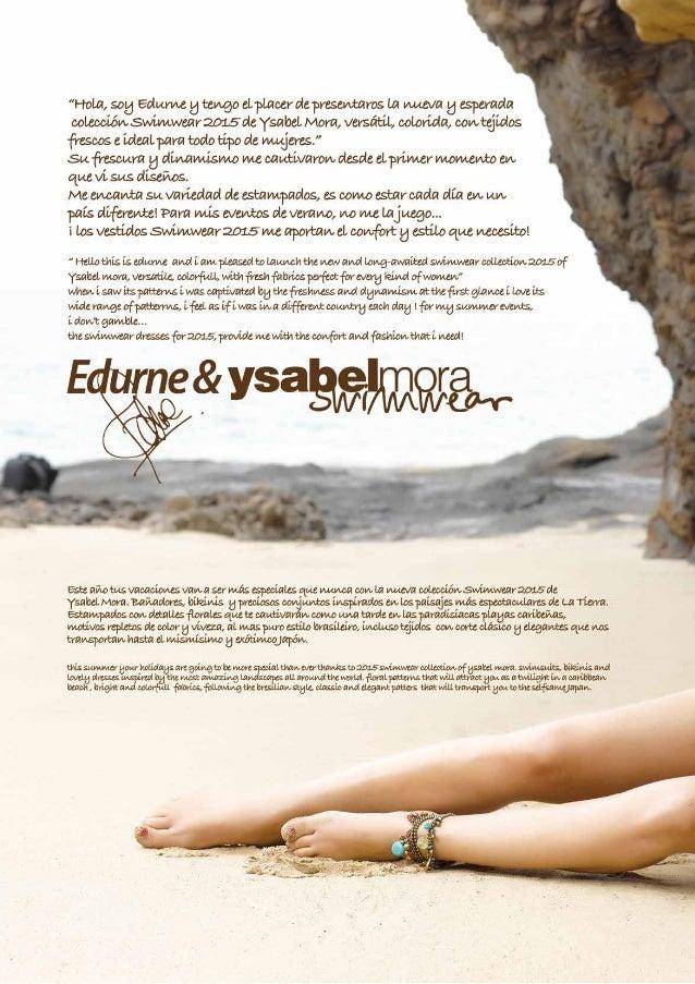Catalogo baño 2015 Ysabel Mora Slide 2