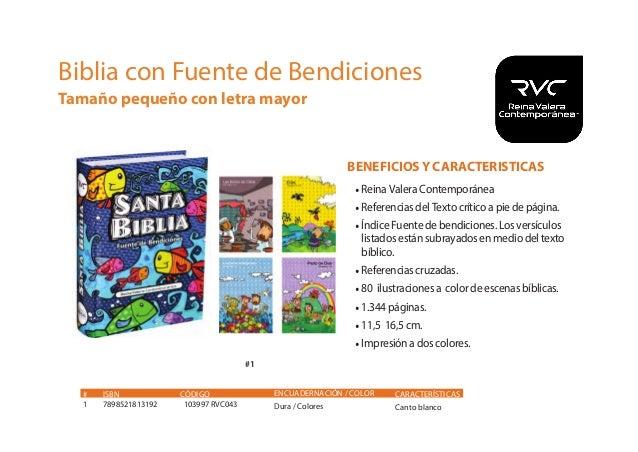 Catalogo bíblico SB Chile 2016