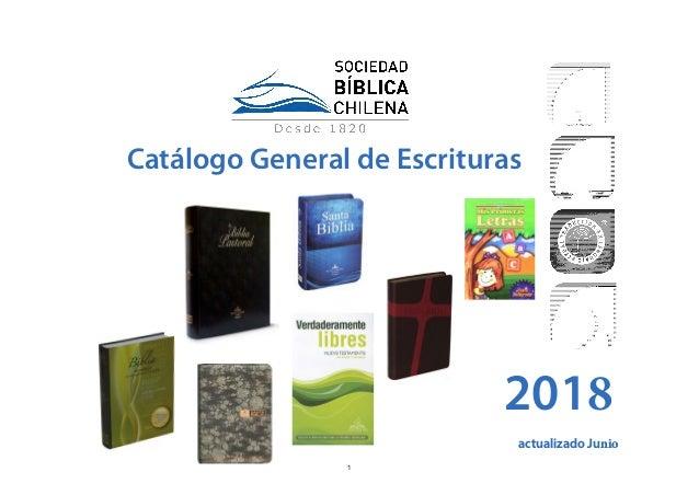 Catálogo General de Escrituras 2018 actualizado Junio 1
