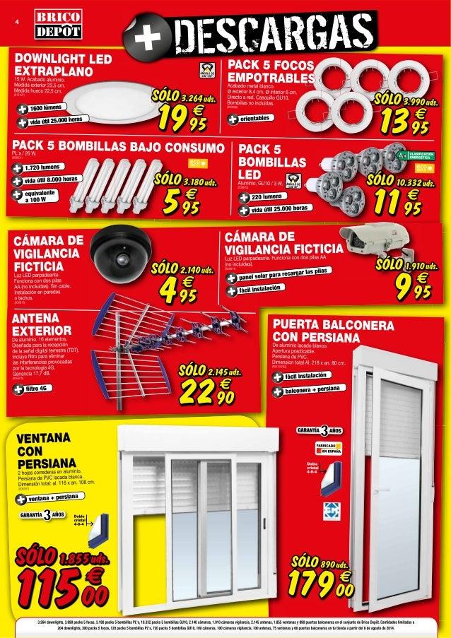 Catalogo de brico depot ofertas de gamma oferta with for Catalogo brico depot