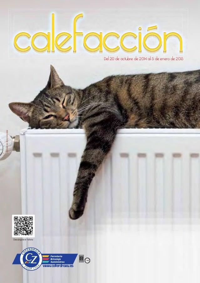 Cat logo calefacci n hogar coferdroza invierno 2014 for Catalogo roca calefaccion