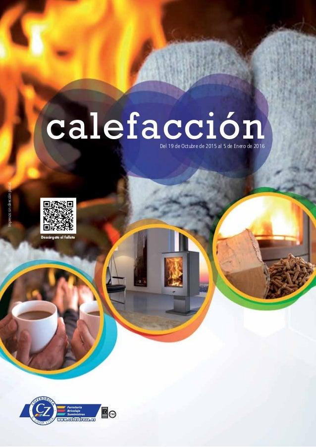 Cat logo calefacci n hogar coferdroza invierno 2015 for Catalogo roca calefaccion