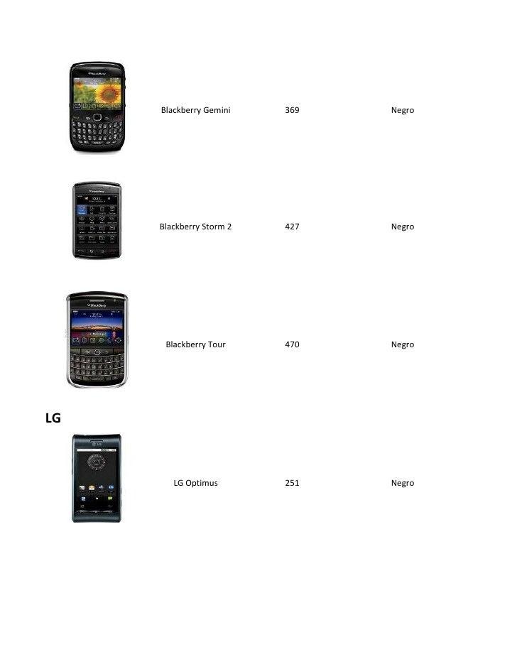 Catalogo celulares