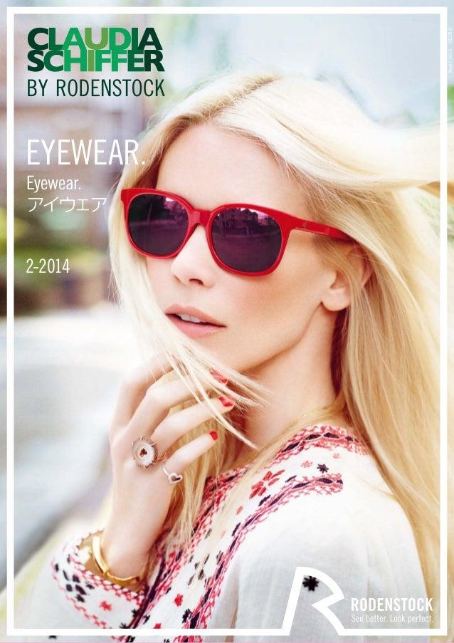 EYEWEAR.  Eyewear.  アイウェア  2-2014  Model C3003 B – CHESTNUT