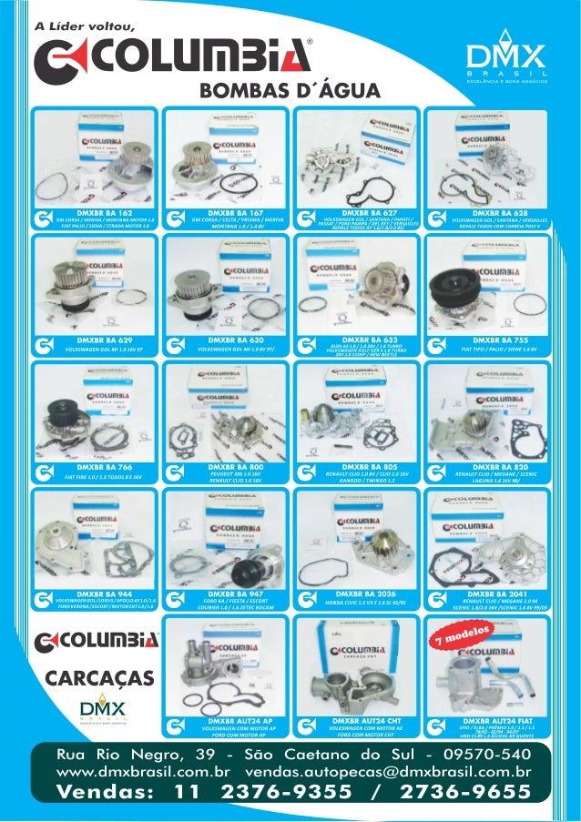 Catálogo Columbia