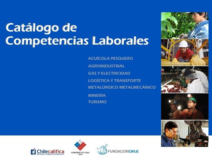 Catálogo de Competencias Laborales