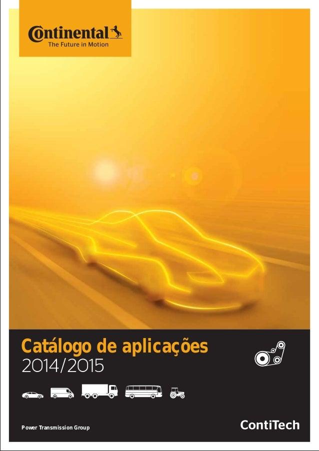 Catálogo de aplicações Power Transmission Group