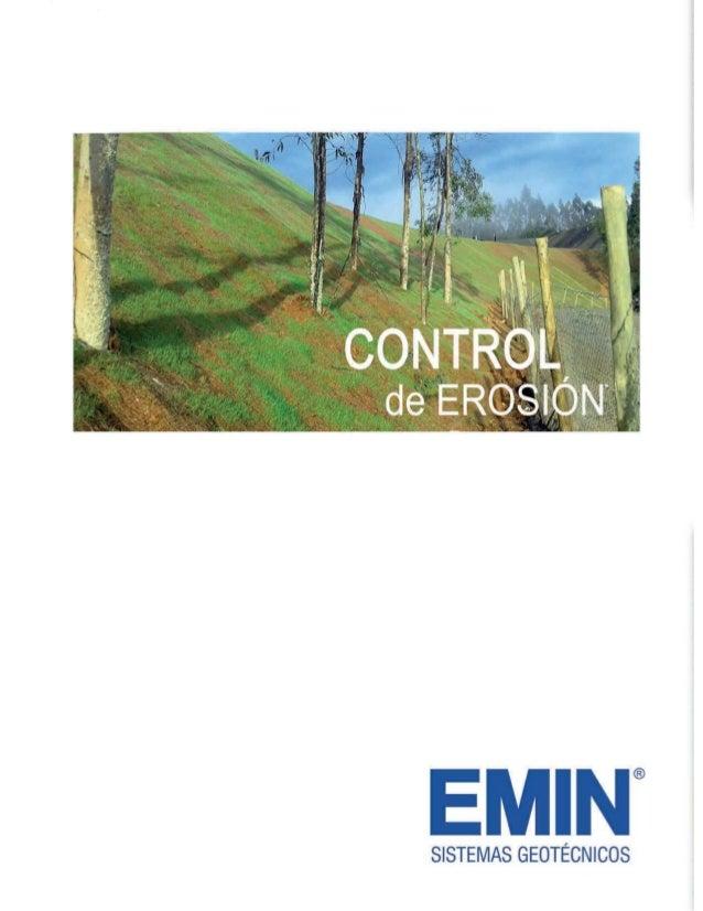 Catalogo control de erosión Emin
