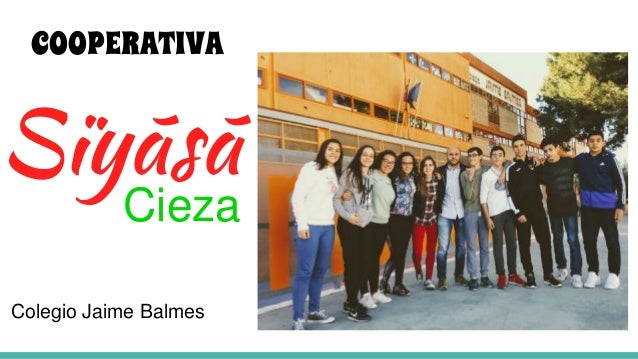 Sïyãsã Cieza COOPERATIVA Colegio Jaime Balmes