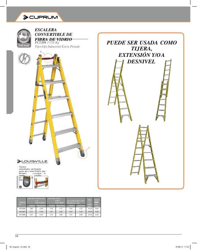 Catalogo cuprum catalogo de escaleras cuprum catalogo for Escaleras cuprum