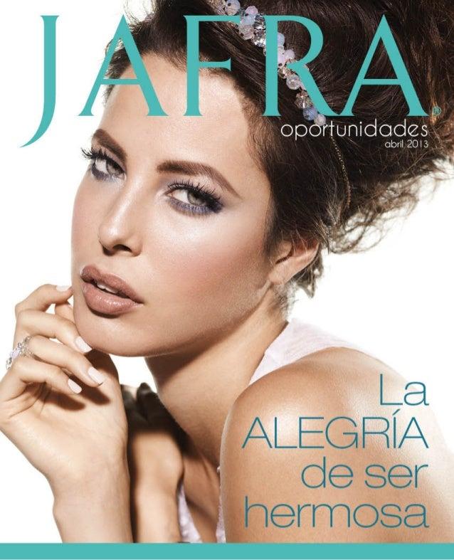 Catálogo Jafra abril 2013