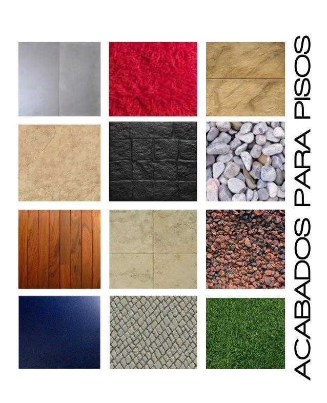 Catalogo de acabados for Muestrario de azulejos