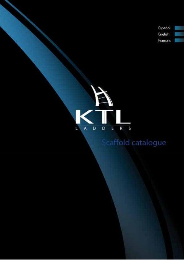 Catálogo de andamios KTL - 2014