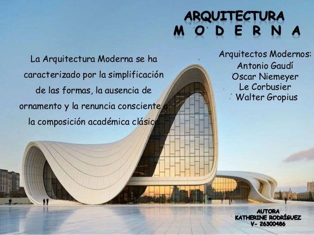 Catalogo de arquitectura moderna for Catalogo arquitectura