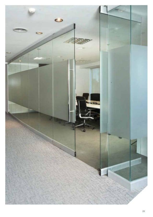Sistemas de tabiques de oficina y cub culos sanitarios - Tabiques de cristal ...