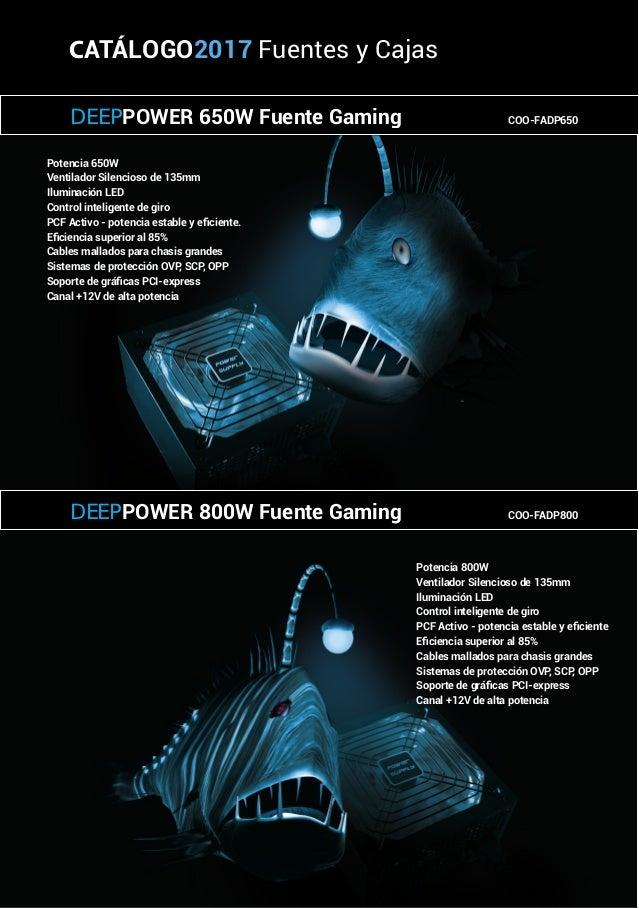 Potencia 650W Ventilador Silencioso de 135mm Iluminación LED Control inteligente de giro PCF Activo - potencia estable y e...