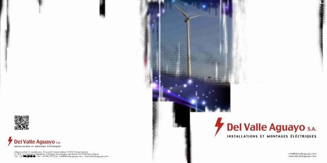 Del Valle Aguayo - installations électriques - énergie renouvelable