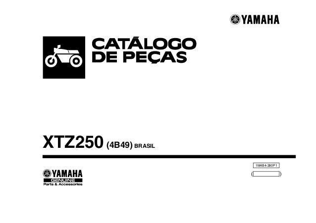 XTZ250 (4B49)  BRASIL  1M4B4-280P1  (  )