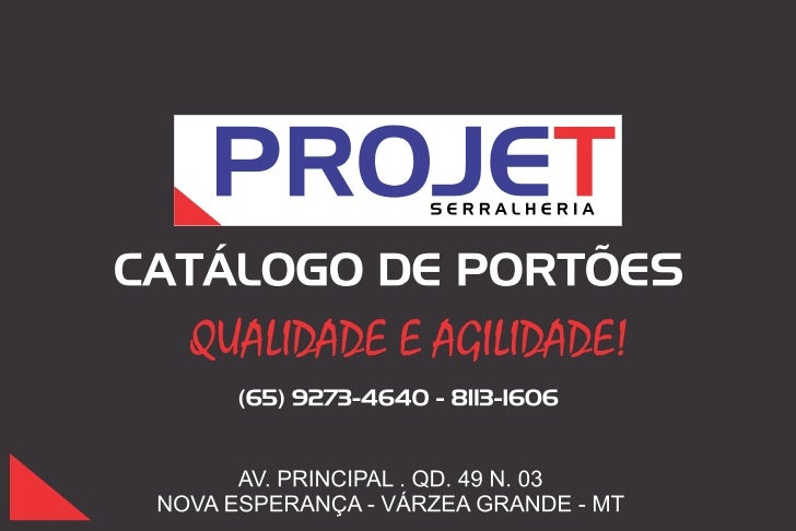 Catalogo de portoes