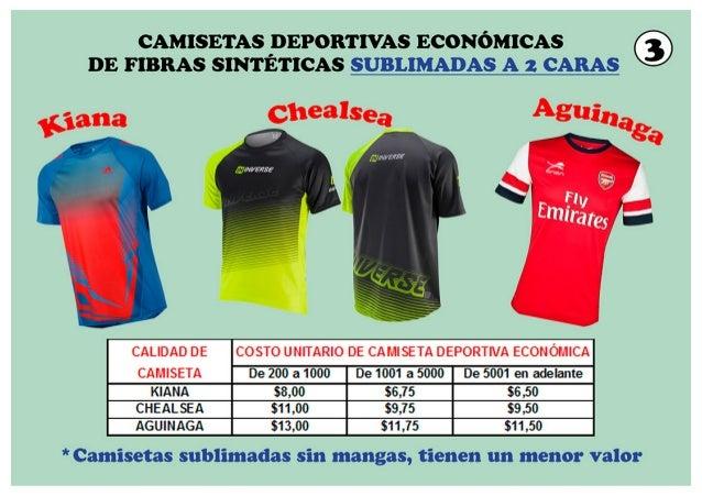 0a11f834c683d CAMISETAS DEPORTIVAS ECONOMICAS ...