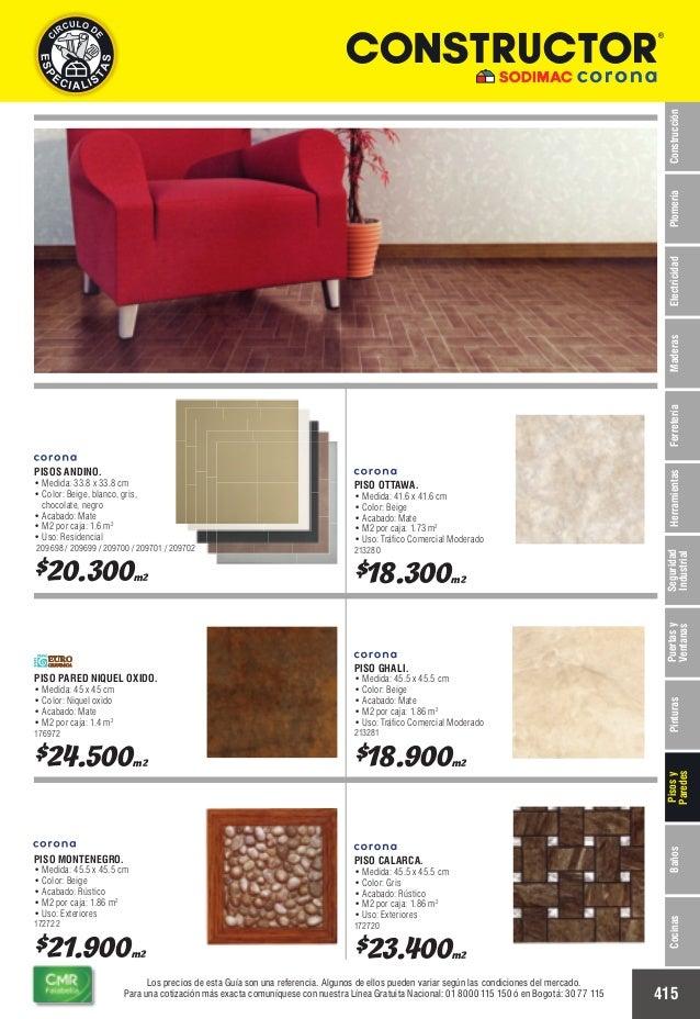Catalogo de precios baldosas for Cuanto cuesta el marmol