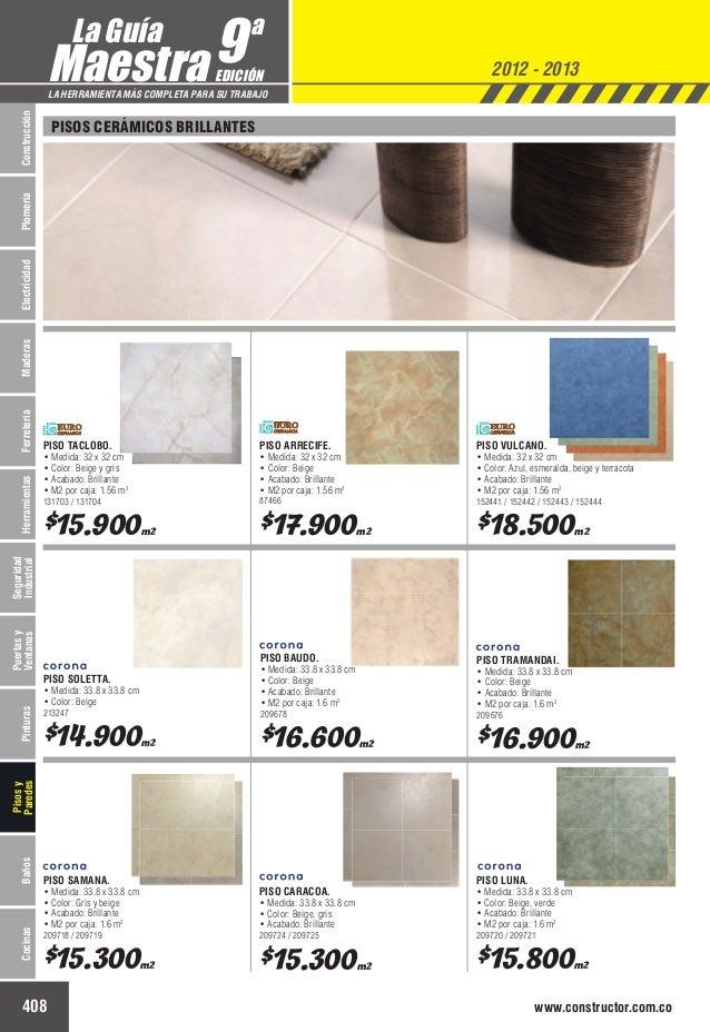 Catalogo de precios baldosas for Precio reforma completa piso 70 metros