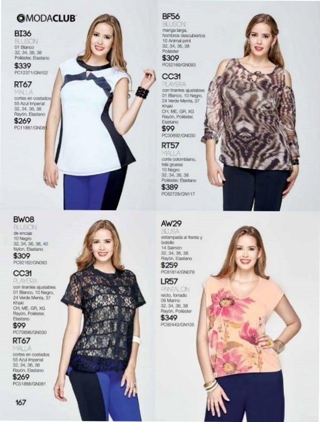 57708b249 Catalogo de ropa y moda para gorditas intermedio verano 2015 moda club