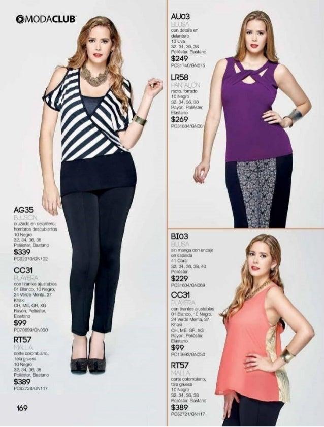 1951c255801beb Catalogo de ropa y moda para gorditas intermedio verano 2015 moda club