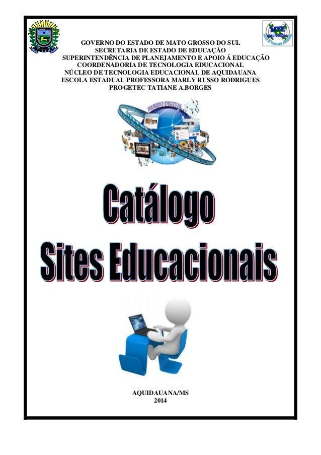 1 GOVERNO DO ESTADO DE MATO GROSSO DO SUL SECRETARIA DE ESTADO DE EDUCAÇÃO SUPERINTENDÊNCIA DE PLANEJAMENTO E APOIO Á EDUC...
