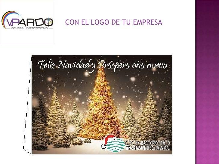 con el logo de tu empresaucbr with ideas navideas - Imagenes Navideas