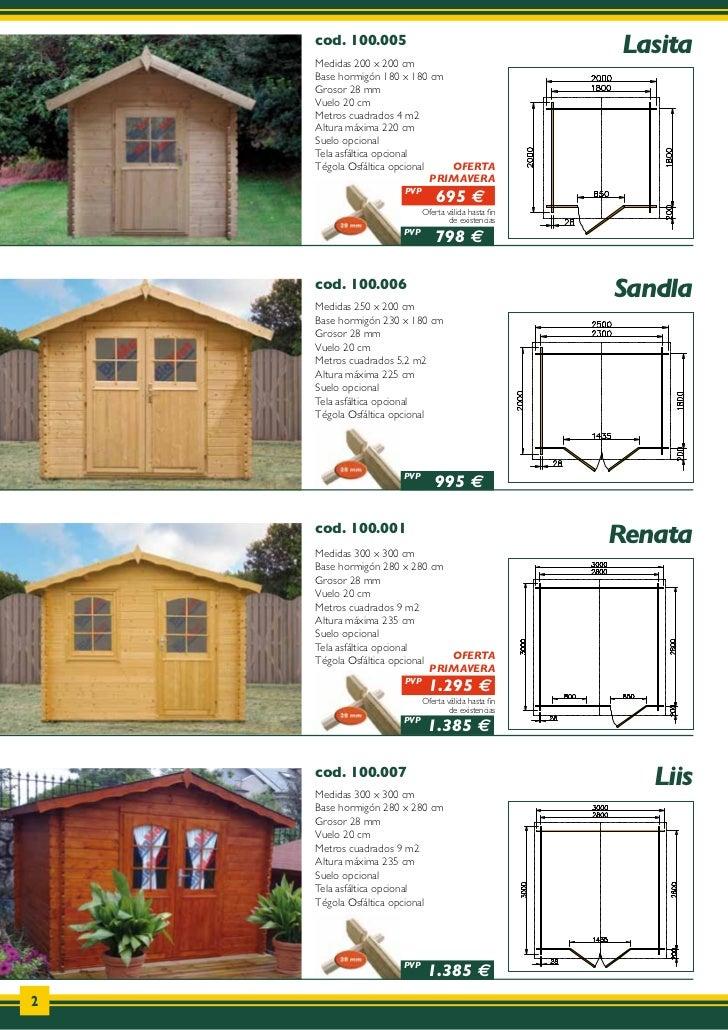 Catalogo de casas de madera donacasa 2011 - Catalogo de casas prefabricadas ...