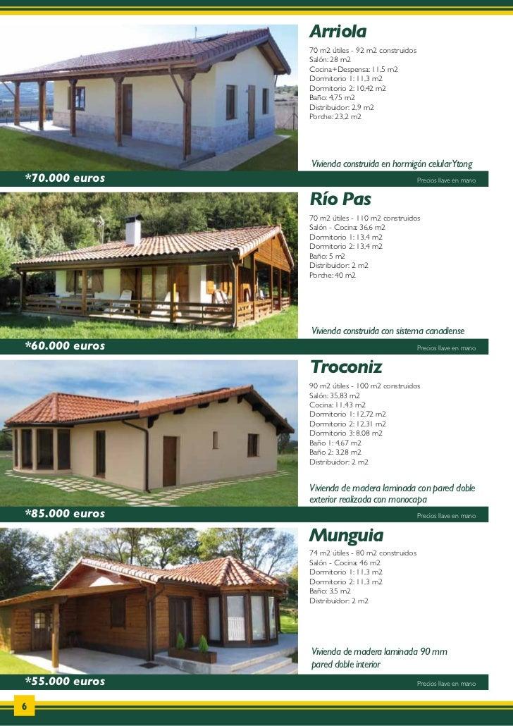 Catalogo de casas de madera donacasa 2011 for Catalogo casa