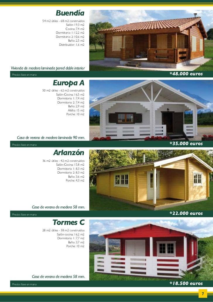 catalogo de casas de madera donacasa 2011