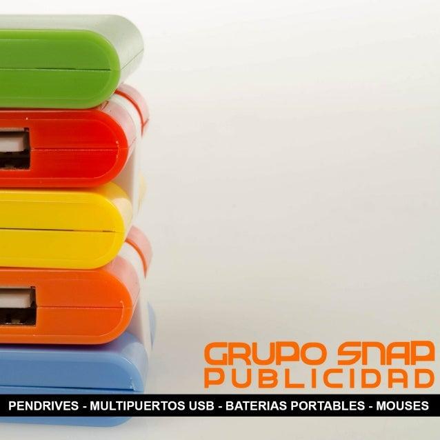 Catalogo electronicos GRUPO SNAP (Español)