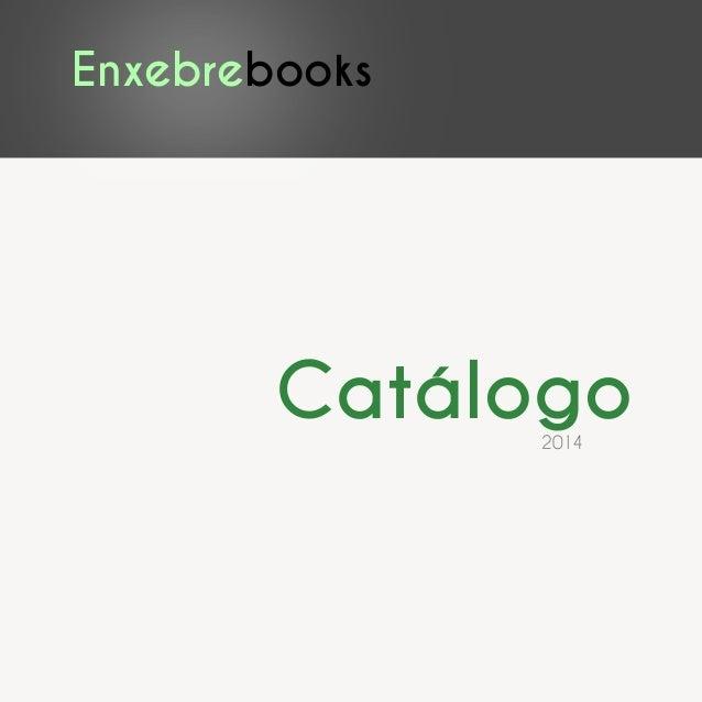 Enxebrebooks Catálogo2014